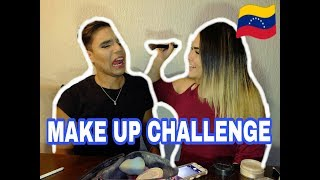MAKE UP CHALLENGE || Roy Zamora