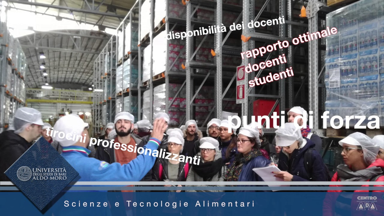 scienze e tecnologie alimentari - youtube