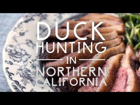 Duck Hunting in Northern California   Original Fare   PBS Food