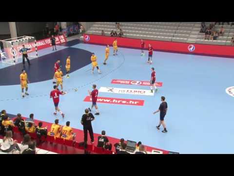 Serbia vs Spain (Place 5/8) - EHF M18 EURO 2016