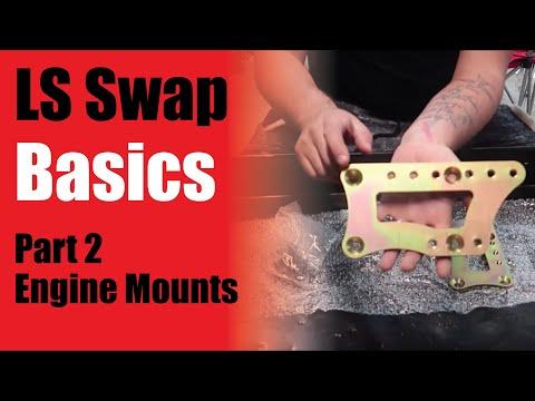 LS Swap basics - Part 2 - Engine Mounts *How to LS Swap Any vehicle