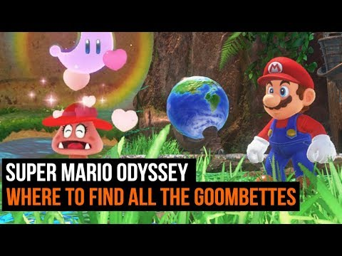 Super Mario Odyssey - Where To Find all the hidden Goombettes