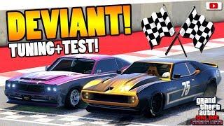 🧐🏁Ist ER Gut Für Rennen? DEVIANT Speed + Race Test!🧐🏁[GTA 5 Online Arena War Update DLC]