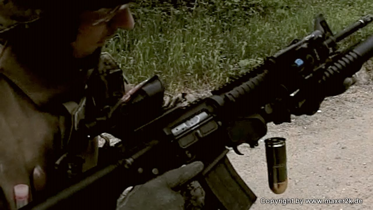 G&P - FN M16A4 with M203 40mm Grenades (USMC Gear) - YouTube M16a4 M203