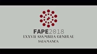 Asamblea General de la FAPE. #FAPESalamanca2018