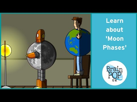 BrainPOP UK - Moon Phases