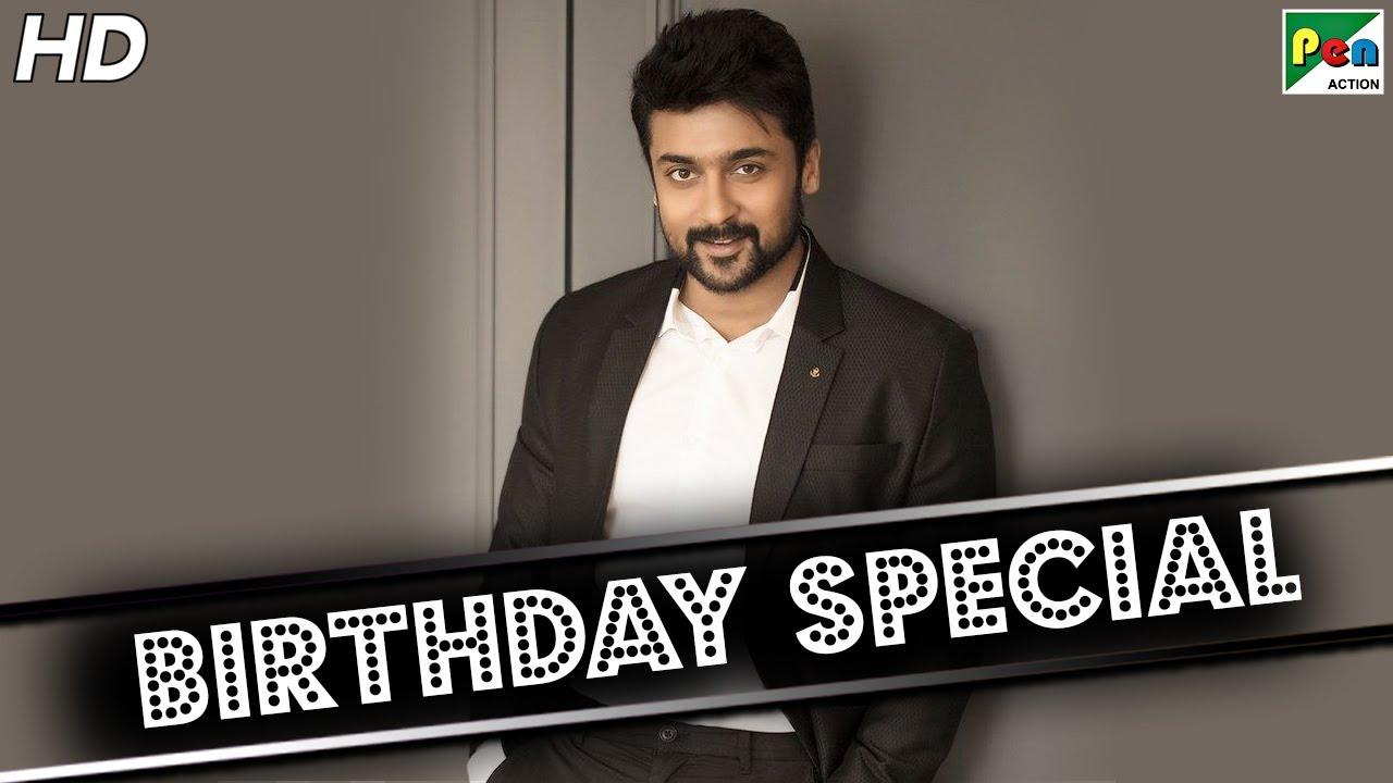 Birthday Special | Suriya Superhit Action Scenes | The Return Of Surya | Hindi Dubbed Movie