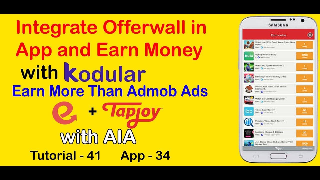 How to Integrate Offerwall into Kodular App – TechStudy