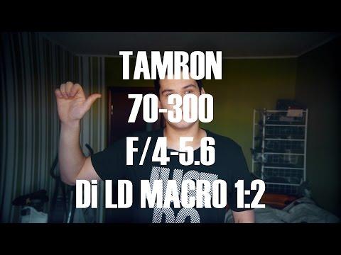 Обзор объектива Tamron 70-300 F/4-5.6 Di LD Macro 1:2 Nikon F
