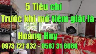 5 Tiêu chí hàng đầu khi chọn mua máy giặt công nghiệp nhật bãi cho tiệm giặt là