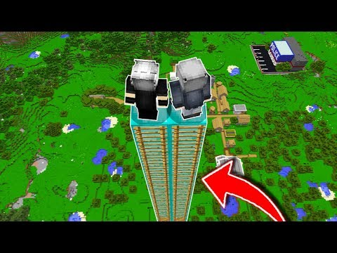 9.999.999 BLOK YÜKSEKLİKTEN PARAŞÜT İLE ATLADIM! 😱 - Minecraft