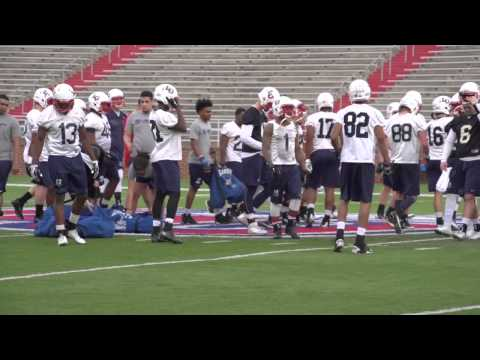 Liberty Holds First Workout of Spring Football
