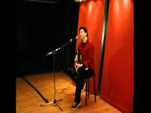 Pete Morton - Private Performance in 2010 at Leeds City Coll