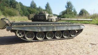 Танк На Радиоуправлении Vstank T72m ... Тест-Драйв, Стрельба