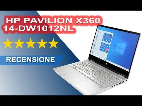 RECENSIONE HP PAVILION X360 14-DW1012NL TOUCH SCREEN PENTIUM GOLD 7505 RAM 8GB SSD 256GB 2W1L1EA#ABZ