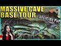 Massive Mega Tribe Breeding Base Tour (Ragnarok) - Ark Official PvP - Ark: Survival Evolved