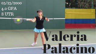 Valeria Palacino College Recruitment Video
