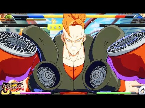 """Android 16's Crazy lvl.3 Super! First Online Matches - Dragon Ball FighterZ """"Trunks"""" """"Android"""""""