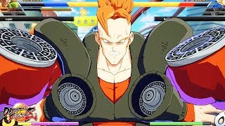 Android 16's Crazy lvl.3 Super! First Online Matches - Dragon Ball FighterZ