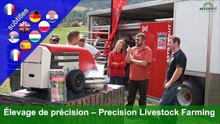 Élevage de précision: Lely - Isagri - Grunderco - DeLaval - Alptracker - Medria -  Quanturi