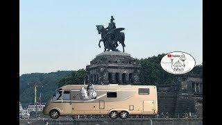 Reisebericht Urlaub 2019 #11 - Knaus Camping Koblenz Deutsches Eck