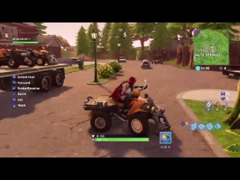 Fortnite Quad Crusher Location Spawns Not All Youtube