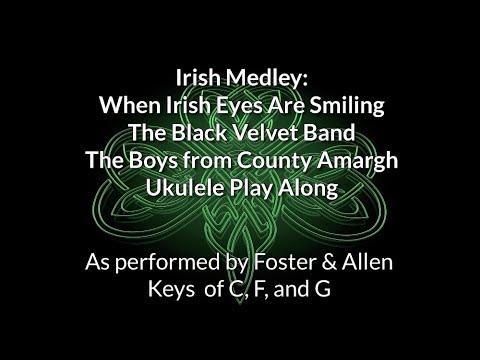 Irish Medley Ukulele Play Along