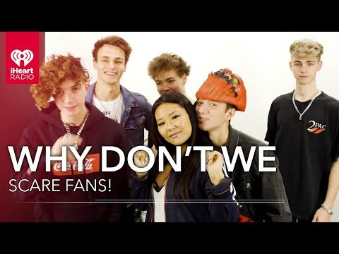 Why Don't We Scare And Surprise Fans At iHeartRadio!