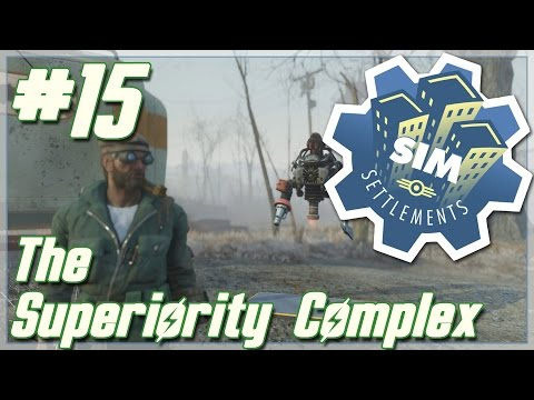 """Fallout 4: Sim Settlements [Modded] // Ron and The Superiority Complex // Ep. 15 - """"U-W07-M8!"""""""