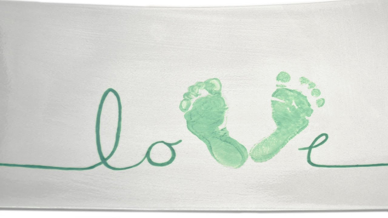 How To Make Baby Footprints With Paint
