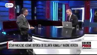Entrevista a César Nakazaki en Cuarto Poder