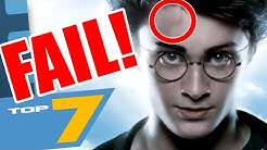 7 lustige FILMFEHLER in Harry Potter