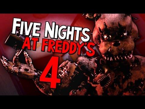 Five Nights At Freddys 4 ПРОХОЖДЕНИЕ - ЗОЛОТОЙ ФРЕДБИР - 5 ночей у Фредди