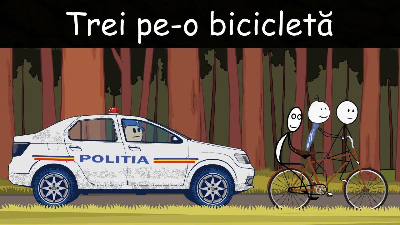 AVENTURI CU VACA: Trei Pe-o Bicicletă