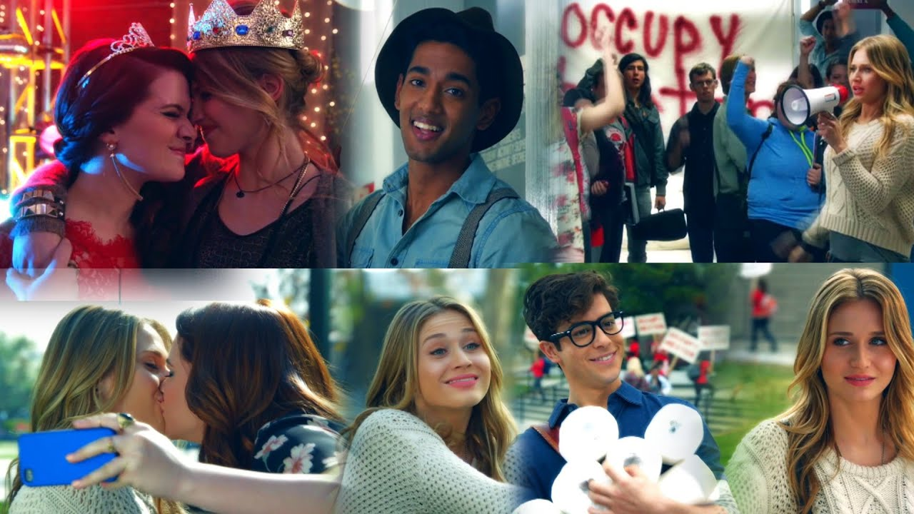 Download Amy's journey to discover her sexuality (Faking It) - Part 3 (clips from episodes 1x02 & 1x03)
