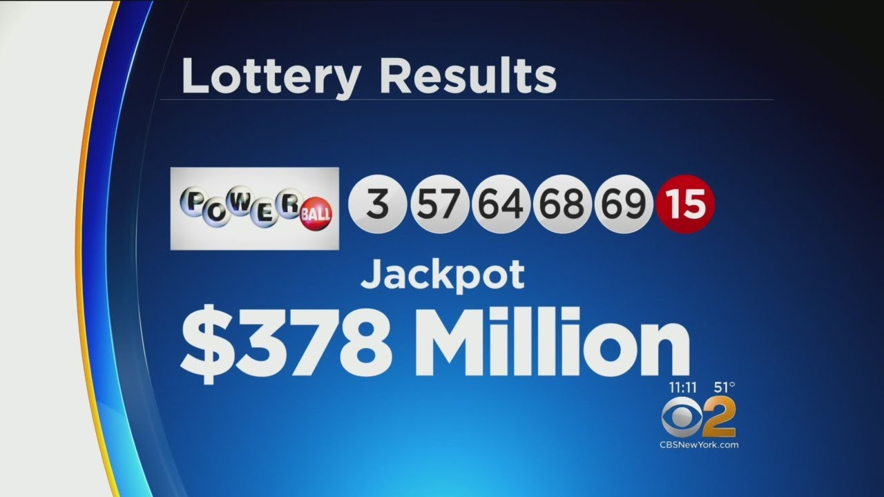 Wednesday Night Powerball Numbers Announced Youtube