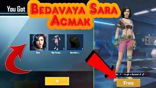 Bedava Sara karakteri nasıl alınır? - Pubg Mobile
