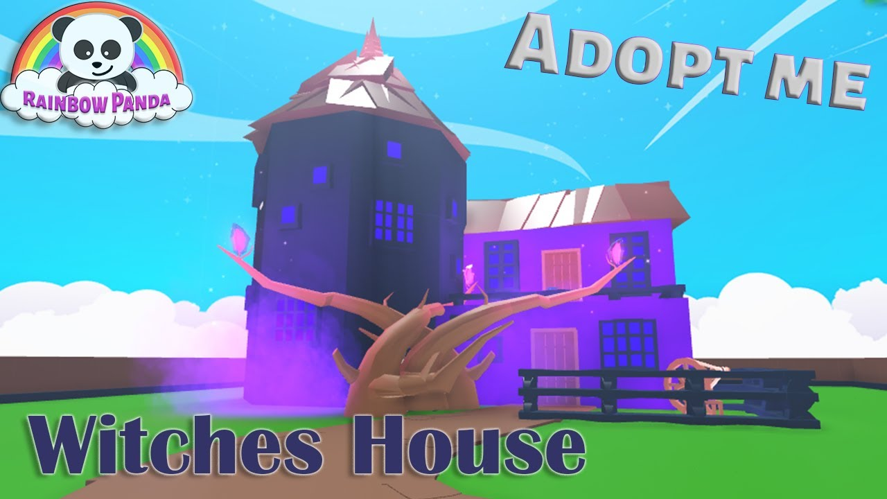 Adopt Me Halloween House 🎃- Cute Witches House glitch build