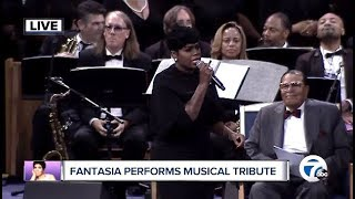 Fantasia Performs Musical Tribute (Aretha Franklin Memorial)