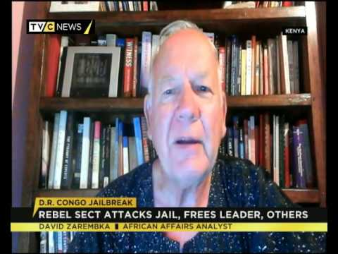 David Zarembka speaks on DR Congo jailbreak