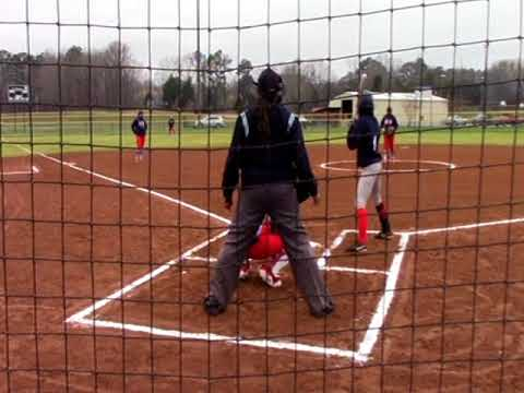 Belmont vs Hickory Flat Softball @ Northeast 3-16-18 only on WRMG-TV-12/97