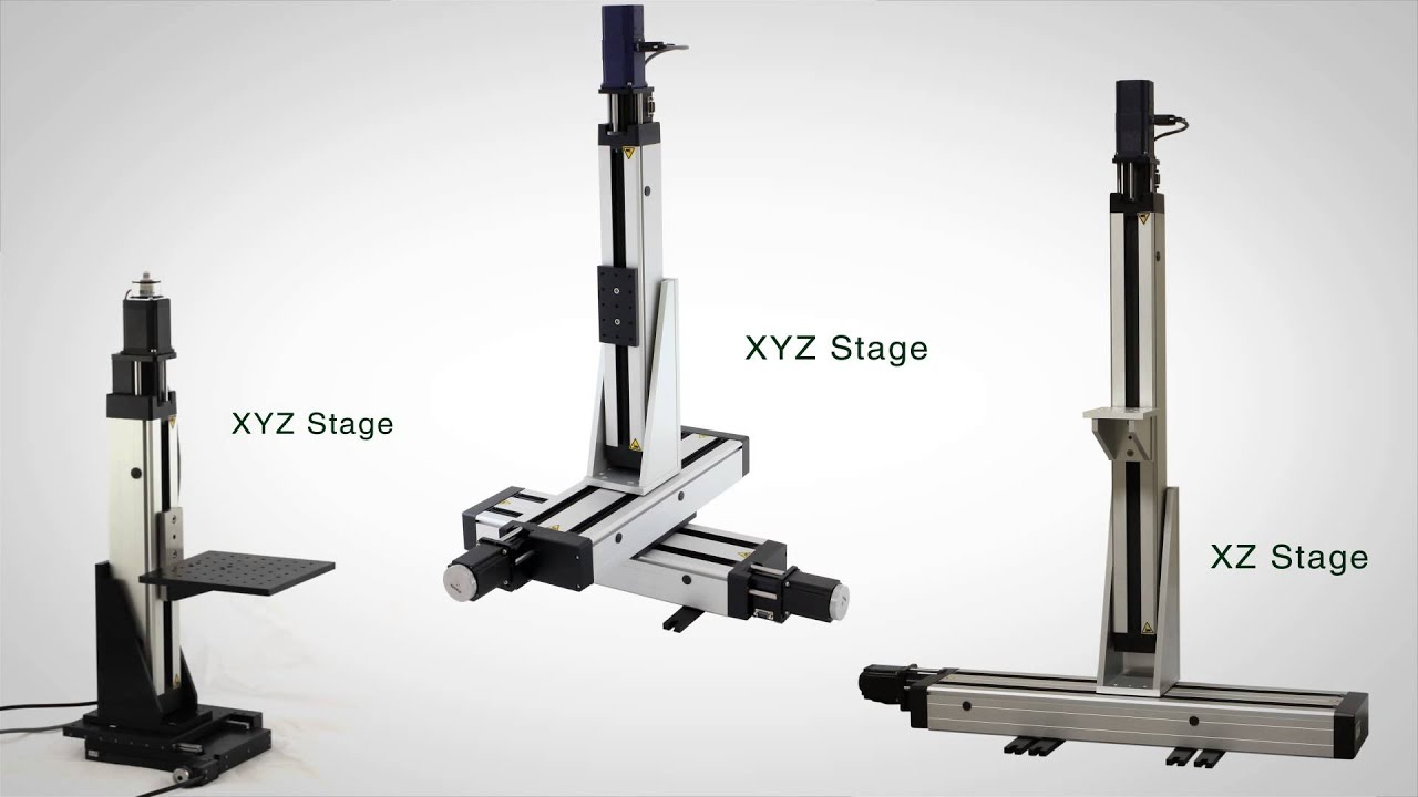 Long Travel Motorized Linear Stages Youtube
