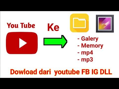 Cara Download Mp3 Mp4 Di YouTube, Instagram, Facebook Dll Dengan Mudah