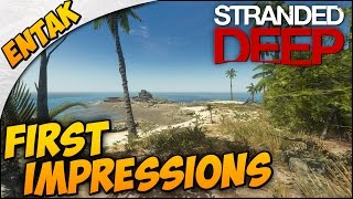 Stranded Deep Gameplay ➤ First Impressions & Shipwreck Exploration! [Part 1]