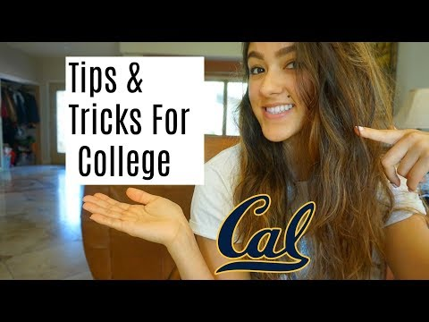 Tips and Tricks For College | UCB
