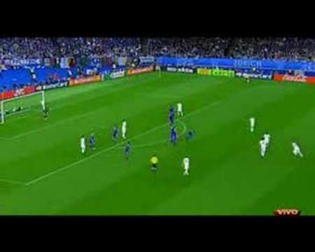 Eurocup 2008 - Italy vs. France - Pirlo & De Rossi Goals