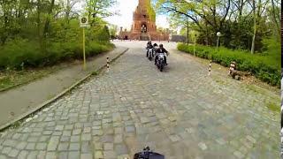 Harley Davidson Breakout Friends 2. Kennenlernausfahrt der HDBF Berlin/Brandenburg 02.05.2015