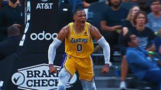 BIG Russ Slam IGNITES the Lakers in OT!