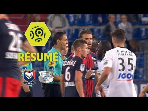 SM Caen - Amiens SC (1-0)  - Résumé - (SMC - ASC) / 2017-18