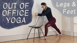 OUT OF OFFICE YOGA: Legs & Feet | 15-Minute Movement Break for All Levels with Oceana Mariani